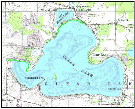 Clear Lake Map